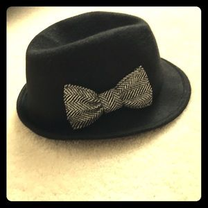 Target black fedora hat for women! With bow! New!